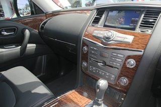 2021 Nissan Patrol Y62 MY21 TI Moonstone White 7 Speed Sports Automatic Wagon