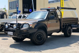 2008 Mazda BT-50 UNY0E3 DX Brown 5 Speed Manual Cab Chassis.