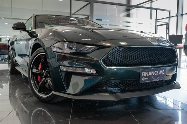 New Ford Mustang FN 2019MY BULLITT Fastback RWD, 2019 Ford Mustang FN 2019MY BULLITT Fastback RWD Bright Highland Green 6 Speed Manual Fastback