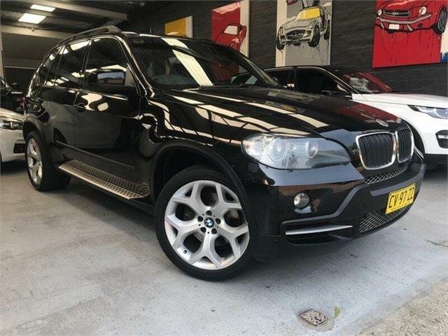 Used BMW X5 E70 xDrive30d, 2008 BMW X5 E70 xDrive30d Black Sports Automatic Wagon