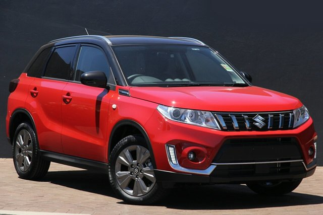New Suzuki Vitara LY Series II 2WD Maitland, 2021 Suzuki Vitara LY Series II 2WD Red/Black 6 Speed Sports Automatic Wagon