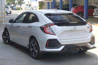2019 Honda Civic 10th Gen MY19 RS Platinum White 1 Speed Automatic Hatchback.