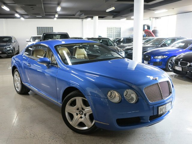 Used Bentley Continental 3W GT, 2004 Bentley Continental 3W GT Neptune Blue 6 Speed Sports Automatic Coupe
