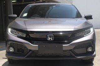 2019 Honda Civic 10th Gen MY19 VTi-LX Modern Steel 1 Speed Automatic Hatchback