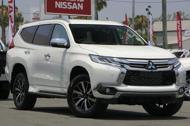 Used Mitsubishi Pajero Sport QE MY19 Exceed, 2018 Mitsubishi Pajero Sport QE MY19 Exceed White 8 Speed Sports Automatic Wagon