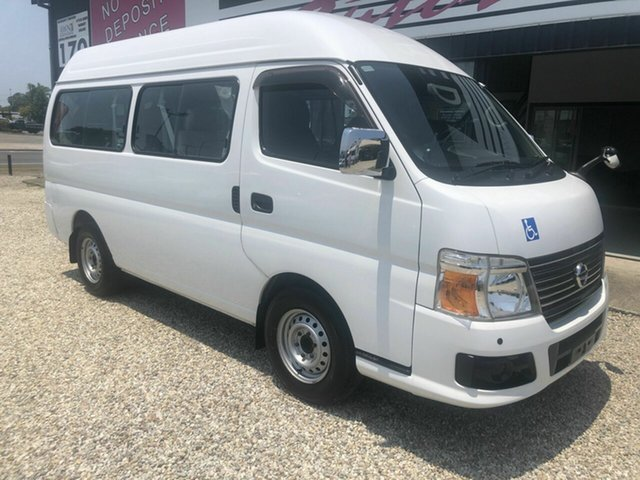 Used Nissan Caravan  , 2012 Nissan Caravan  NV350 Hydrolic wheelchair lift White 4 Speed Automatic Van