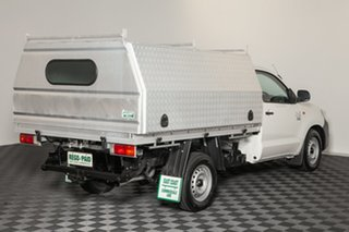 2014 Toyota Hilux KUN16R MY14 Workmate 4x2 Glacier 5 speed Manual Cab Chassis