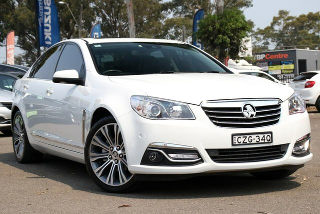 Used Holden Calais VF MY15 V, 2015 Holden Calais VF MY15 V White 6 Speed Sports Automatic Sedan