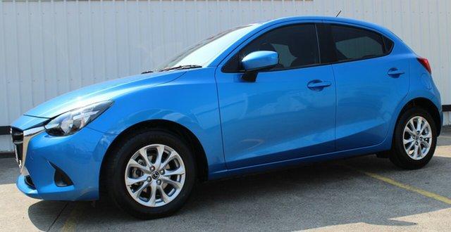 Used Mazda 2 DJ2HAA Maxx SKYACTIV-Drive, 2015 Mazda 2 DJ2HAA Maxx SKYACTIV-Drive Blue 6 Speed Sports Automatic Hatchback