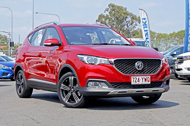 Used MG ZS AZS1 MY19 Excite Plus 2WD, 2018 MG ZS AZS1 MY19 Excite Plus 2WD Red 6 Speed Automatic Wagon