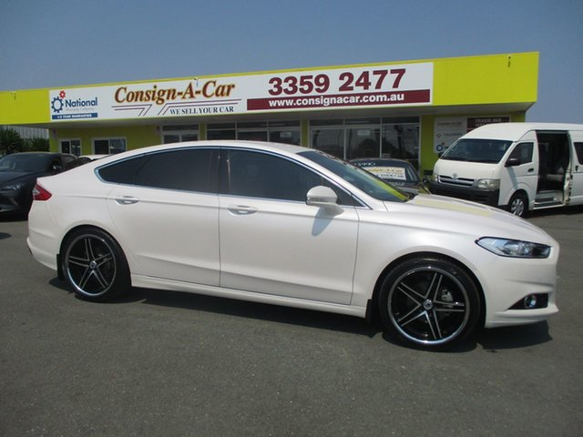 Used Ford Mondeo MD Trend PwrShift, 2016 Ford Mondeo MD Trend PwrShift White 6 Speed Sports Automatic Dual Clutch Hatchback