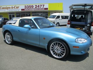 2001 Mazda MX-5 NB30P2 Blue 6 Speed Manual Softtop.