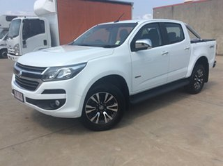 2016 Holden Colorado RG MY17 LTZ Pickup Crew Cab White 6 Speed Manual Utility