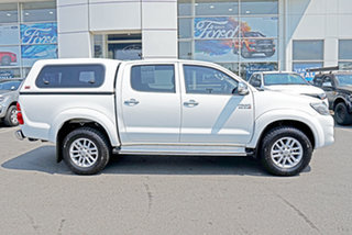 2014 Toyota Hilux KUN26R MY14 SR Double Cab White 5 Speed Automatic Utility