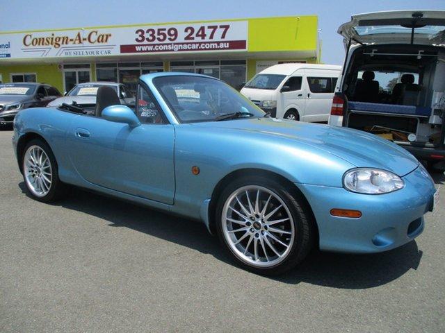 Used Mazda MX-5 NB30P2 , 2001 Mazda MX-5 NB30P2 Blue 6 Speed Manual Softtop
