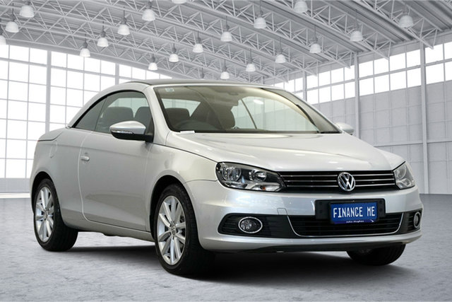 Used Volkswagen EOS 1F MY14 155TSI DSG, 2014 Volkswagen EOS 1F MY14 155TSI DSG Silver 6 Speed Sports Automatic Dual Clutch Convertible