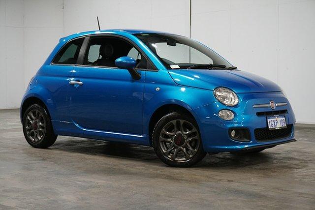 Used Fiat 500 Series 3 S Dualogic, 2014 Fiat 500 Series 3 S Dualogic Blue 5 Speed Sports Automatic Single Clutch Hatchback