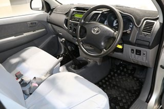 2005 Toyota Hilux KUN16R SR Silver 5 Speed Manual Cab Chassis