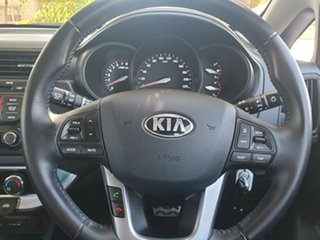 2014 Kia Rio UB MY14 S White 4 Speed Sports Automatic Hatchback
