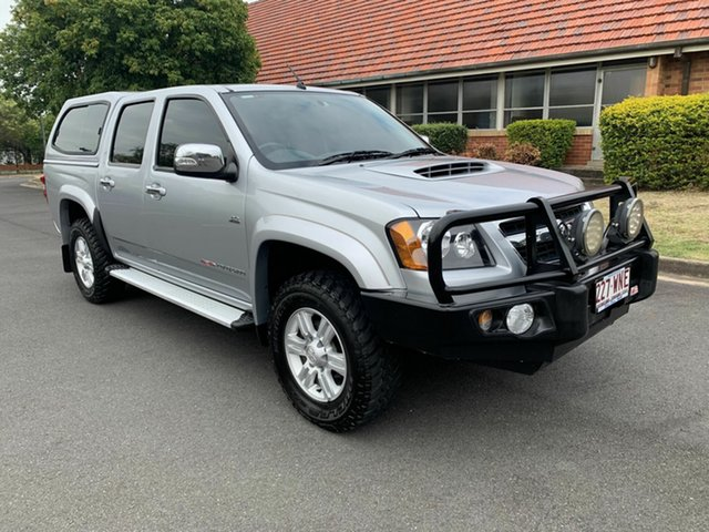 Used Holden Colorado RC , 2011 Holden Colorado RC LTR Silver 4 Speed Automatic Dual Cab