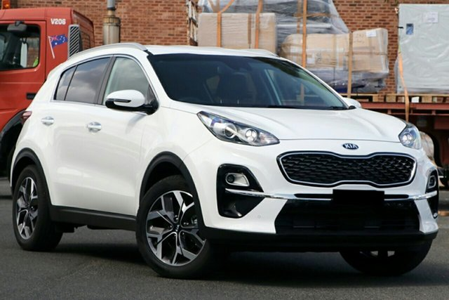 New Kia Sportage QL MY21 SX+ 2WD Echuca, 2021 Kia Sportage QL MY21 SX+ 2WD Clear White 6 Speed Sports Automatic Wagon