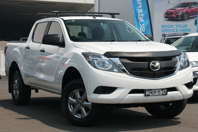 Used Mazda BT-50 UR0YF1 XT Freestyle 4x2 Hi-Rider, 2016 Mazda BT-50 UR0YF1 XT Freestyle 4x2 Hi-Rider White 6 Speed Sports Automatic Cab Chassis