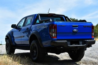 2019 Ford Ranger PX MkIII 2019.75MY Raptor Pick-up Double Cab Blue Lightning 10 Speed