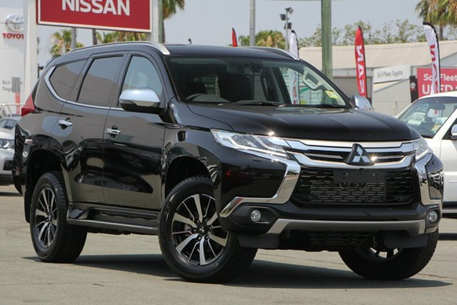 Used Mitsubishi Pajero Sport QE MY19 Exceed, 2018 Mitsubishi Pajero Sport QE MY19 Exceed Black 8 Speed Sports Automatic Wagon
