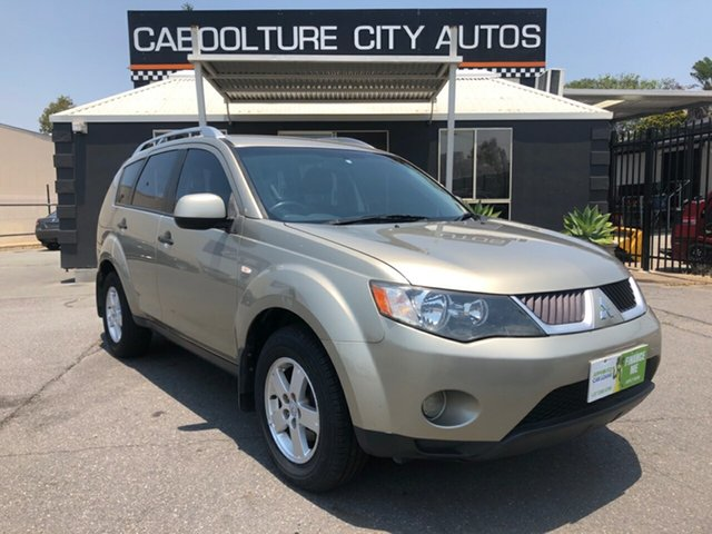 Used Mitsubishi Outlander ZG MY08 LS, 2008 Mitsubishi Outlander ZG MY08 LS Gold 6 Speed CVT Auto Sequential Wagon
