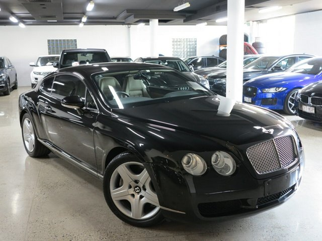 Used Bentley Continental 3W GT, 2004 Bentley Continental 3W GT Black 6 Speed Sports Automatic Coupe