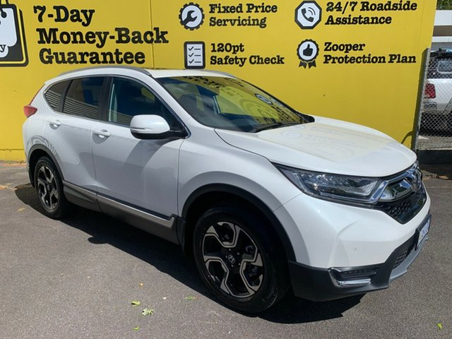 Used Honda CR-V RW MY19 VTi-LX 4WD, 2019 Honda CR-V RW MY19 VTi-LX 4WD White 1 Speed Constant Variable Wagon
