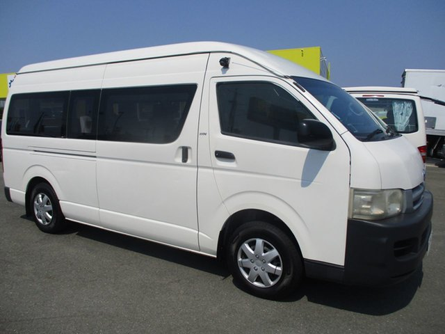 Used Toyota HiAce  , 2007 Toyota HiAce SLWBTRH221R MY0 WHEELCHAIR LIFT White Van