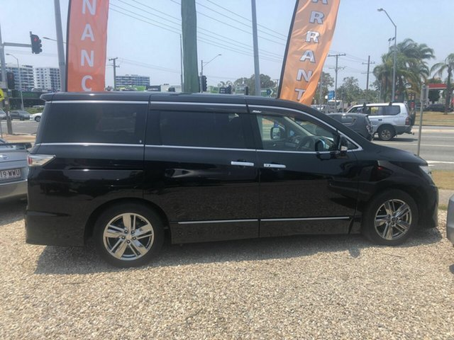 Used Nissan Elgrand PE52 Rider, 2011 Nissan Elgrand PE52 Rider Black 6 Speed Automatic Wagon
