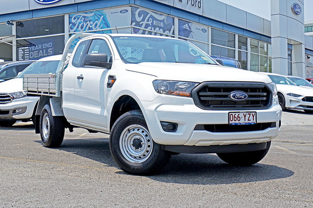 Used Ford Ranger PX MkIII 2019.00MY XL Super Cab 4x2 Hi-Rider, 2019 Ford Ranger PX MkIII 2019.00MY XL Super Cab 4x2 Hi-Rider White 6 Speed Sports Automatic