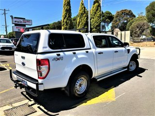 2013 Ford Ranger PX XL Double Cab White 6 Speed Sports Automatic Utility.