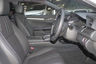 2019 Honda Civic 10th Gen MY19 RS Platinum White 1 Speed Automatic Hatchback