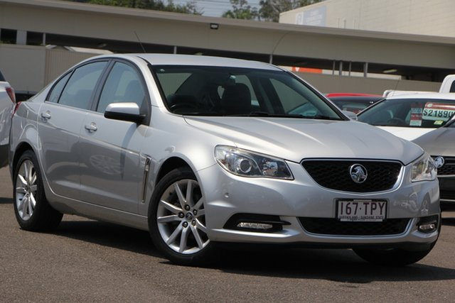 Used Holden Commodore VF MY14 International, 2013 Holden Commodore VF MY14 International Silver 6 Speed Sports Automatic Sedan