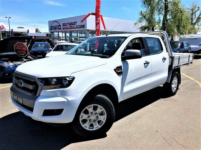 Used Ford Ranger PX MkII XLS Double Cab, 2017 Ford Ranger PX MkII XLS Double Cab White 6 Speed Sports Automatic Utility