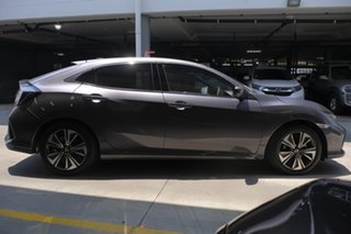 2019 Honda Civic 10th Gen MY19 VTi-LX Modern Steel 1 Speed Automatic Hatchback.