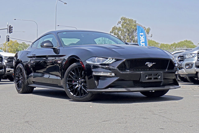 Used Ford Mustang FN 2018MY GT Fastback SelectShift, 2018 Ford Mustang FN 2018MY GT Fastback SelectShift Shadow Black 10 Speed Sports Automatic Fastback