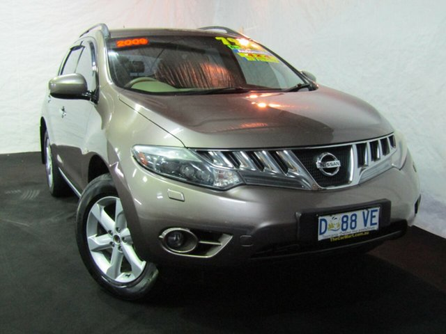Used Nissan Murano Z51 TI, 2009 Nissan Murano Z51 TI Gold 6 Speed Constant Variable Wagon