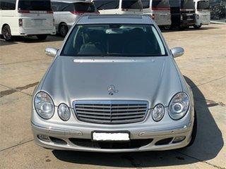 2005 Mercedes-Benz E-Class W211 E200 Kompressor Elegance Silver Sports Automatic Sedan.