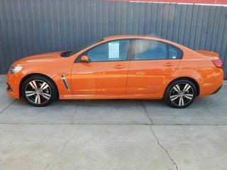 2014 Holden Commodore VF MY14 SS Storm Orange 6 Speed Manual Sedan.