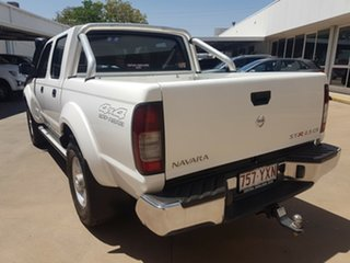 2015 Nissan Navara D22 Series 5 ST-R (4x4) White 5 Speed Manual Dual Cab Pick-up