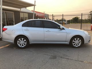 2010 Holden Epica EP MY10 CDX Silver 6 Speed Automatic Sedan.