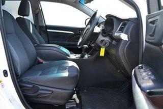 2015 Toyota Kluger GSU55R GX (4x4) Crystal Pearl 6 Speed Automatic Wagon