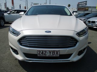 2016 Ford Mondeo MD Trend PwrShift White 6 Speed Sports Automatic Dual Clutch Hatchback