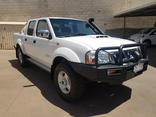 2015 Nissan Navara D22 Series 5 ST-R (4x4) White 5 Speed Manual Dual Cab Pick-up.