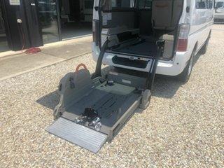 2012 Nissan Caravan  NV350 Hydrolic wheelchair lift White 4 Speed Automatic Van.