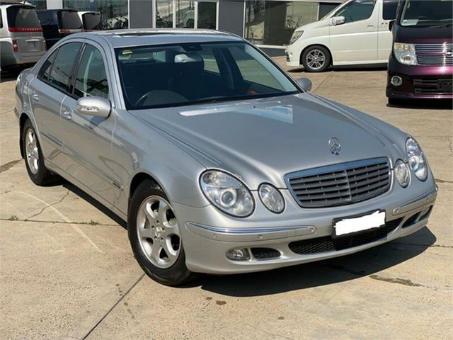 Used Mercedes-Benz E-Class W211 E200 Kompressor Elegance, 2005 Mercedes-Benz E-Class W211 E200 Kompressor Elegance Silver Sports Automatic Sedan